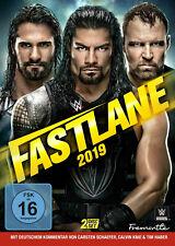 WWE Fastlane 2019 2x DVD DEUTSCHE VERKAUFSVERSION