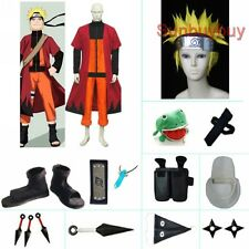 Naruto Uzumaki Halloween Cosplay Costume Naruto set with wig