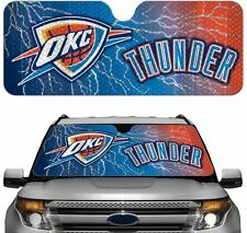 Oklahoma City Thunder Auto Sun Shade [NEW] Car Truck Window Reflect Cover 59x27