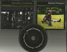 RACHAEL YAMAGATA 4TRX Sampler w/ RARE EDIT PROMO DJ CD Single 2008 MINT USA