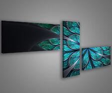 Quadri moderni astratti 180 x 70 stampe su tela canvas con telaio MIX-S_61
