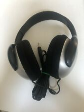 Sony MDR-CD180 Silver/ Black Stereo Headphones Free Shipping Tested