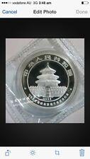 1995 china panda beijing expo 1oz silver coin