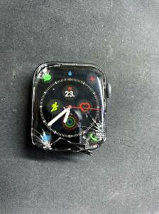  Apple Watch Series 4 44mm Cracked Glass Screen LCD Good for Parts Refurbished