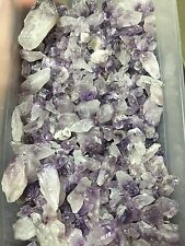 1lb Wholesale Amethyst Crystal Cluster Points Natural Gems