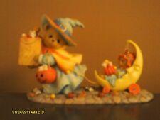Cherished Teddies / Connie & Annie limited edition - Witch trick or treat