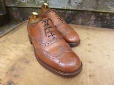 CHEANEY / CHURCH VINTAGE BROGUES – BROWN / TAN – UK 6 – AVON – VERY GOOD COND