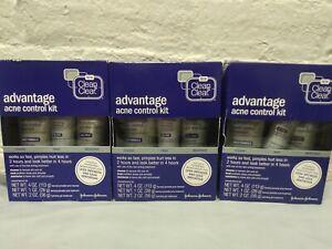3 Kits ~ Clean & Clear Advantage Acne Control Kit 5/2020
