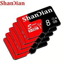 SHANDIAN Real capacity micro sd memory cards 8GB  High speed class 10 micro sd