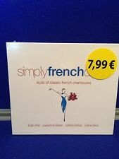 NEW SEALED Various Artists - Simply French Divas (2013)  Edith Piaf Celine Dion