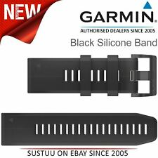Garmin QuickFit 26 Watch Strap Band¦For Fenix 3-3 Sapphire HR-5X-5X Plus¦Black