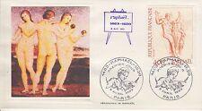 ESSAIE SERIGRAPHIE DE RAPHAELE PREMIER JOUR 1983 EUROPA 1483 RAPHAEL 1520