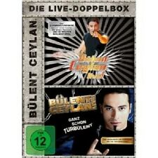 BÜLENT CEYLAN - LIVE & GANZ SCHÖN TURBÜLENT 2 DVD COMEDY NEU