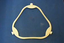 """7 3/4"""" Span 5/8"""" Tall Wheel Microwave Plate Support Rounded Triangle"""