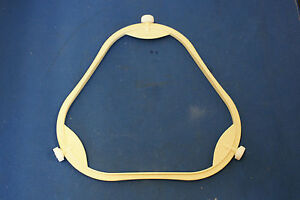 "7 7/8"" Span 7/8"" Tall Wheel Microwave Plate Support Triangle"