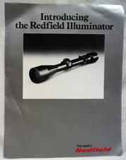 Redfield Firearms Gun Scope Advertising Sales Brochure Guide Vintage