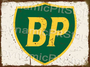 30x40cm BP Rustic Tin Sign or Decal, Man Cave, Bar, Garage, Retro, Vintage