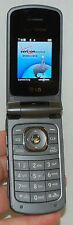 LG VX5500 Verizon Wireless Flip out Keyboard GRAY Cell Phone VGA Camera grey -C-