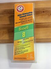 New Bissell Odor Eliminating Vacuum Cleaner Hepa Filter 8 Arm & Hammer # 62648A