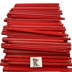 "100 Knex Red 5-1/8"" Rods - Standard K'nex Parts Lot"