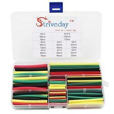 Striveday 180pcs Of Assorted Heat Shrink Tubing In 4 Colors And 8 Sizes Tubing