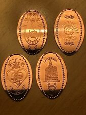 Elongated Coin Pressed Penny- Liverpool Airport -Retired Machines UK Pennies