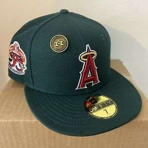 Hat Club Exclusive California Angels Green Eggs N' Ham New Era Fitted Size 7