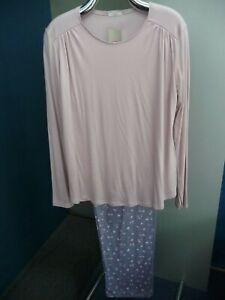 Damen Pyjama von Mey Art. 14158 Fb. Violet Ice Langarm NEU!