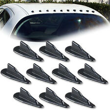 modified car decoration tail black tip shark fins spoiler wing for vehicals Pip