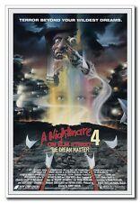 "A Nightmare on Elm Street 4 Freddy 24""x36"" Horror Movie Silk Poster Hot"