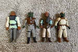 Vintage Star Wars Figures Jabba's Goons Bundle x4 Figures