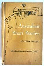 AUSTRALIAN SHORT STORIES Ed. Brian James (Hardback, c.1969) Ex-Library - Vintage