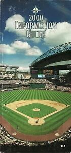 Seattle Mariners--2000 Media Guide--Safeco Field