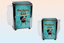 Barbecue Bar Serviettenspender Serviettenhalter Retro Vintage American Diner