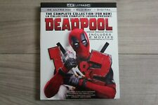 Deadpool: The Complete Collection (4K Ultra HD+Blu-Ray+Digital, 2018) Bilingual