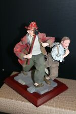"""""""Fire"""" Statue /Norman Rockwell inspired Rare!"""