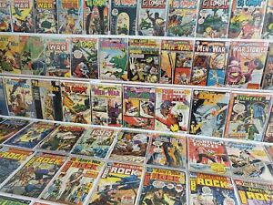 100+ DC WAR Silver/Bronze Comic Runs Lot Star-Spangled Stories 138 Enemy Ace