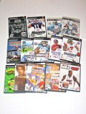 Playstaion 2 Carts Vintage Video Game Cartriges Sonic NBA Grand Theft Auto