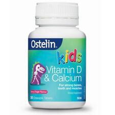 Ostelin Vitamin D & Calcium Kids Chew Tablets 50
