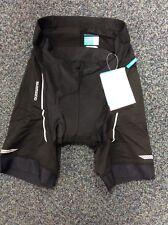 Shimano Clothing Men's, Active Pedaling Shorts, Black, Large