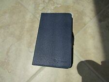 RooCase Google NEXUS 7 FHD Blue Leather DualView Folio Case BOOK Stand