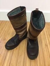 Womens Dubarry Ireland Kildare Brown Leather & Goretex Waterproof Boots 5.5 8.5
