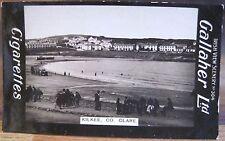 KILKEE Beach Strand Co Clare Cigarette Card GALLAHER IRISH VIEWS 304 Ireland