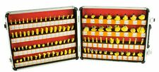 "Steel Dragon Tools 100pc 1/4"" Shank Router Bit Set Tungsten Carbide Kit"