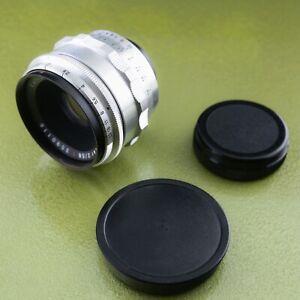M42, BIOTAR 2 / 58 red T preset lens, Carl Zeiss Jena 2/58 CZJ #3590116 5.8 ☆☆☆☆