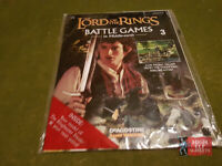 Lord of the Rings Magazine Issue 3 - Warhammer Deagostini (In Plastic)