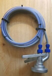 G TYPE KEG COUPLER BARREL FITTING With JG Fittings GAS & BEER PIPE - Grundy