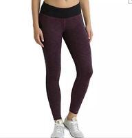 Kirkland Signature Ladies Purple Active Leggings Size Large NWT