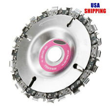 4 Inch Grinder Disc and Chain 22 Tooth 100/115 Angle Fine Abrasive Cut Grinder