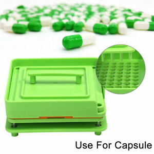 100 Holes Capsules Filler Size 0 00 000 1 2 3 Manual Fillings Machine Flate Tool
